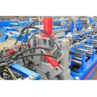 Best Q235 Steel Coil 3.0mm C Z Purlin Roll Forming Machine wholesale