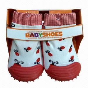 Best Rubber Sole Kids' Shoe Socks wholesale