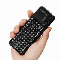 Best 2.4GHz Mini Handheld Wireless Keyboard with Notebook Touchpad and Freedom Pairing wholesale