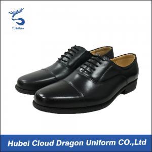 Best Classic dress security work shoes / autumn black security shoes Removable insole wholesale