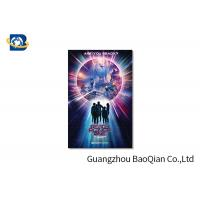 Best High Resolution Lenticular Greeting Cards Movie Star Photo Eco - Friendly Material wholesale