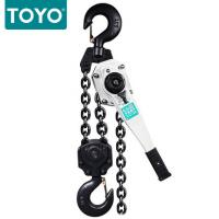 Buy cheap TOYO  Lever Chain Hoist CE&GS lifting weight 0.75T-6T lifting height 1.5m from wholesalers