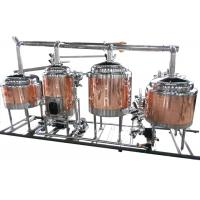 Best Mini Home Brew Equipment Flat Bottom , Stainless Steel Brewing System wholesale