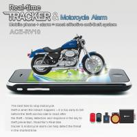 Best RFV10 Remote-Control Motorcycle Security AGPS LBS Tracker W/ web tracking & Alarm by SMS wholesale