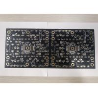 Best 6 Layers LED Light PCB Board Black Soldmask White Silscreen Support SMT DIP wholesale
