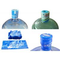 Best 5 Gallon Water Bottle Neck Seal Shrink Sleeve With Custom Printing wholesale
