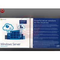 Best Windows Server 2016 Standard Oem  Retail DVD COA Sticker Software Licensing wholesale