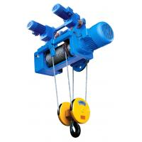 Best Portable Standard Headroom Trolley Wire Rope Hoists SH Type 1/4 Fall For Single Girder wholesale