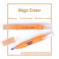 China Pink Magic Eraser for Eyebrows Skin Marker Pen Color Remover 10 Seconds on sale
