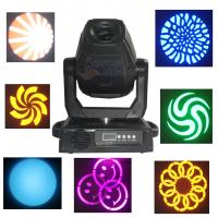 Best 60w / 75w Gobo LED Moving Head Light Spot Stage Lighting Fixture wholesale