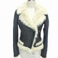 China Women's fur coat, Available from S to XXL Sizes on sale