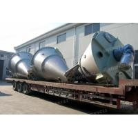 Best Vertical Type Conical Screw Blender , Mild Steel Double Screw Conical Mixer wholesale