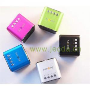 China Cube mini speaker with FM/ TF/USB on sale