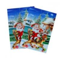 Best OK3D sell High quality plastic greeting  flip 3d lenticular printing with 3D images cover designed by PSDTO3D software wholesale