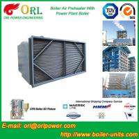 Best Steam Coil CFB Boiler APH , Tubular Type Air Preheater Natural Circulation wholesale