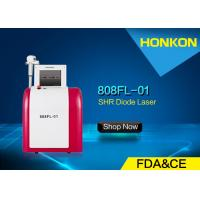 Honkon 1 - 10Hz Frequency Diode Laser Hair Removal Equipment Red And White Color