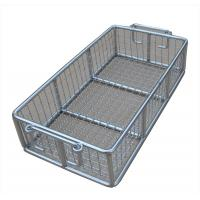 Best Stainless Steel Metal Wire Basket for fruit washing / frying /steaming wholesale