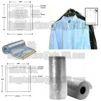 Best DRY CLEANING GARMENT BAG COVER, SANITARY LAUNDRY BAG, HOTEL, LAUNDRY STORE, CLEANING SUPPLIES,HANGER wholesale