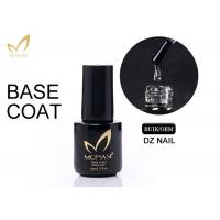 Best No Odour Long Stay Base Coat Uv Gel , Gel Top And Base Coat Eco - Friendly wholesale