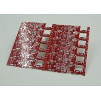 Best Double Sided PCB Board Fabrication Red Solder Mask PCB PD Free HASL Finish wholesale