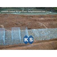 Best Stainless Steel Galvanized Hexagonal Wire Mesh Gabion Boxes , 0.5mm Thick PVC Coated wholesale