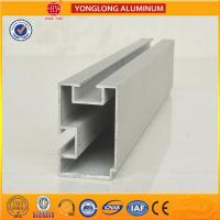 Best 6m Length Aluminium Industrial Profile For Sliding Window With Built - In Blinds wholesale