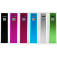 Best Lipstick Portable USB Power Bank 2400 mAh For Nokia / Sony Ericsson wholesale