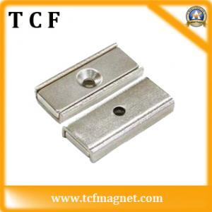 China Rare earth block Neodymium magnetic hander on sale
