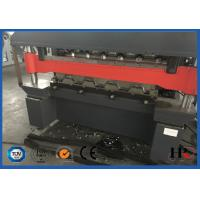 China Double Press Cold Roll Forming Machine Easy Operation With Transmission Chain on sale