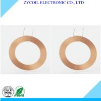 Cheap Toroid Copper Custom Coil Winding , Rfid Reader Coil With Radio Frequency Antenna for sale
