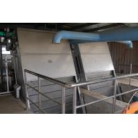 Quality Wastewater treatment screening , Stair  Wastewater Bar Screen for Meat industry wholesale