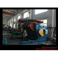 Best 1.2T Pressure Vessel Pipe Rotary Welding Positioner With Worktable Revolving And Tilting Type wholesale