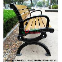 Best Prefabricated Composite Park Bench , WPC Synthetic Wood Bench Fading Resistance wholesale
