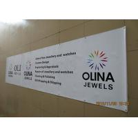 Best Single Side Pvc Banner Printing , Custom Vinyl Banners & Signs Uv Resistant wholesale
