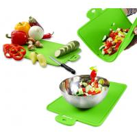 Best Protable Health Durable Green Silicone Chopping Board of 7mm Thickness wholesale