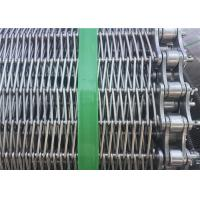 Best Customized Stainless Steel Wire Mesh Conveyor Belt With Chain SGS Listed wholesale