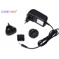 Cheap 12V 2A Multi Plug AC Adapter , ABS Material Universal AC To 12v DC Power Supply for sale