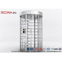 Cheap Full Height Turnstile RFID Card Reader Fingerprint Stainless Steel Turnstiles for sale