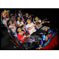 Cheap Exciting 7D Digital Cinema System with Interactive Gun Shooting 7D Games for sale