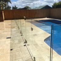 Cheap Tempered Swimming Pool Glass Fence / Glass Railing / Glass Balustrade for sale