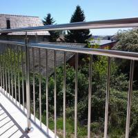 Best High Quality Stainless Steel Window Grill Design Balcony Railing with Wire / Cable / Rod Railing wholesale