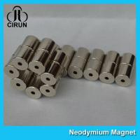 Best Professional Cylinder Strong Neodymium Magnets / Rare Earth Ndfeb N42 Magnet wholesale