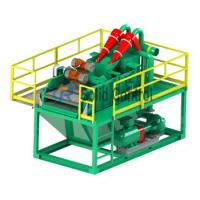 China supplier TR Solids control Bored Pile Desanding Plant for TBM slurry treatment