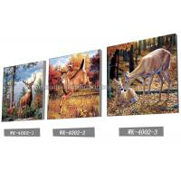 Best Customised Framless 3D Lenticular Pictures 40x40cm Animal Images wholesale