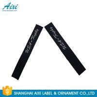 Best Garment Woven Clothing Label Tags Satin / Silk Printing Fast - Delivery wholesale
