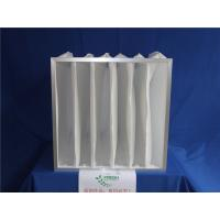 Best White Pocket Air Filter HEPA Pre Filtration System Polyester Filter Bags wholesale