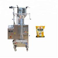 China Photoelectric Tracking Ketchup Packaging Machine , 350kg Hot Sauce Filling Machine on sale