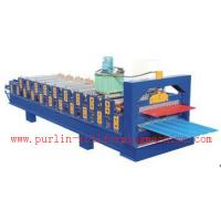Best Standing Seam Roof Panel Roll Forming Machine / Corrugated Rolling Forming Line wholesale
