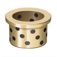 China Plain Flanged Bushings Oilless Bearing Washers And Plates For Hot Conveyors Application on sale