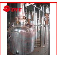 Best 500L Red Copper Commercial Distilling Equipment , Alcohol Still Kits wholesale